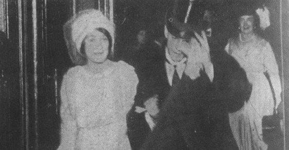 Václav Nižinskij a Romola de Pulszky