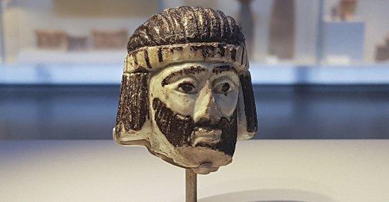 Záhadná soška biblického krále stará 3000 let nalezená v Izraeli