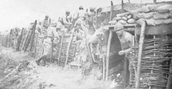 Italští vojáci v Bitvě na Piavě