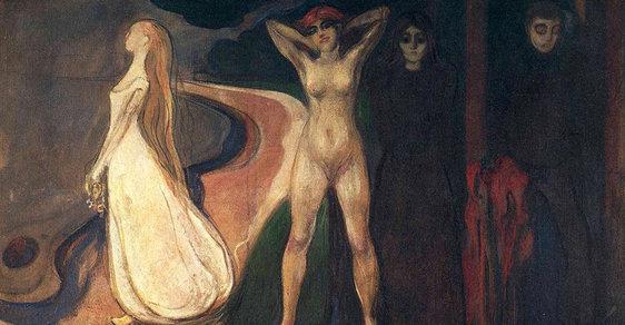 Madonna s embryem a spermiemi. Muzeum zpřístupnilo obrazy autora slavného Výkřiku Edvarda Muncha