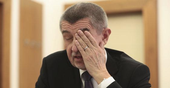 Andrej Babiš vzpomíná na svoje sliby. Marně