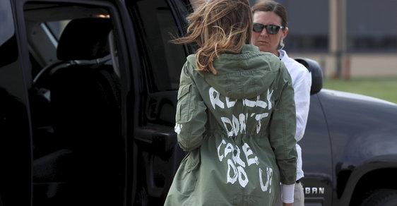 Trolí Melania Trumpová svou garderobou manžela? Její vliv v Bílém domě prý sílí