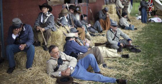 Bitva u Gettysburgu byla klíčová pro vývoj v americké občanské válce. Snímek z jejího 150. výročí v roce 2013.