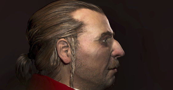 Čeští vědci vytvořili 3D rekonstrukci obličeje barona Trencka, oblíbence Marie Terezie. Podívejte se