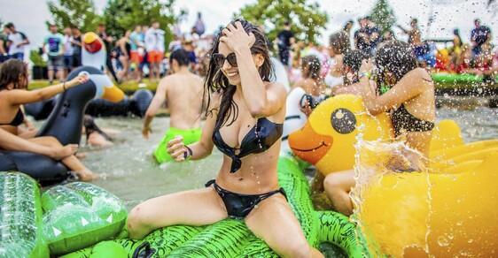 Beachparty s Davidem Guettou: Festival Balaton Sound letos přivítal rekordní množství návštěvníků