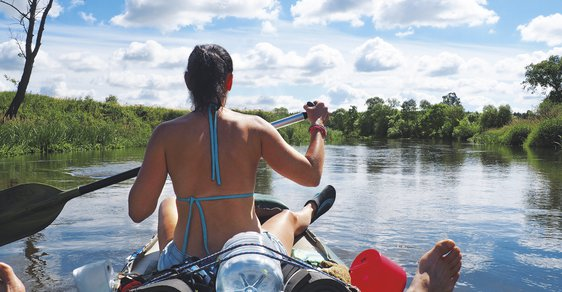 Polská řeka Pilica: Romantická plavba do minulosti