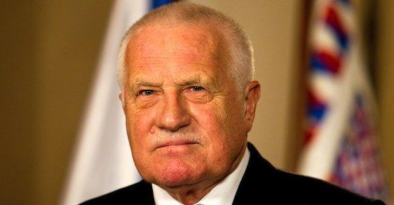 Václav Klaus v roce 2013. Poslední projev ve funkci prezidenta