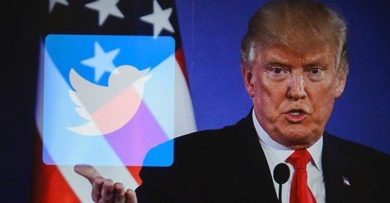Doald Trump je pán twitterové politiky