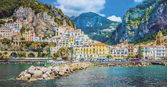 Kouzelná městečka Sorrentského poloostrova aneb Pohádka na pobřeží Amalfitana