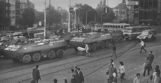 Srpen 1968 a vpád armád Varšavské smlouvy do Československa
