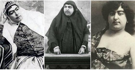 Vousatá perská princezna před 100 lety okouzlovala muže, někteří kvůli ní i spáchali sebevraždu