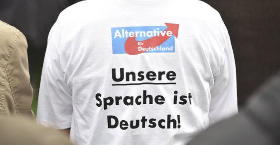Alternativa pro Německo: Naší řečí je němčina!
