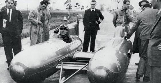 Tarf aneb Dvojité torpédo. Radikální snížení plochy odporu konvenční karoserie vozu se ukázalo jako velice úspěšné