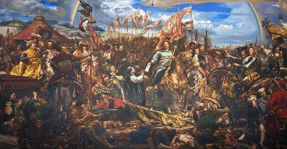 Jan Sobieski posílá zprávu papeži o vítězství (Jan Matejko)
