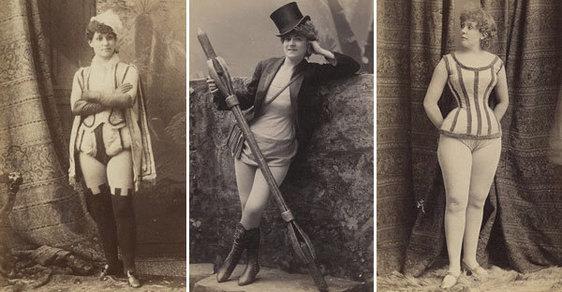 Erotika bez nahoty: Takhle kdysi vypadaly extravagantní tanečnice v pánských klubech