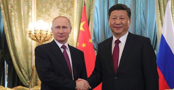 Prezidenti Ruska a Číny