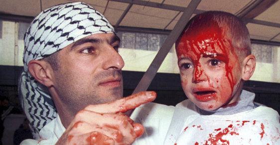 Krvavý muslimský rituál Ašúra: Věřící musí ukázat, že jsou odhodlaní pro islám trpět, včetně dětí