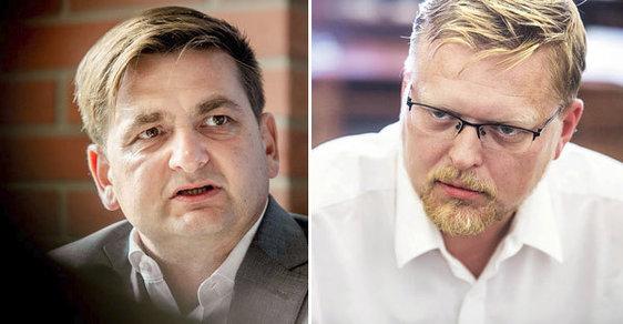 Senátní volby 2018: Souboj Martina Červíčka (ODS) a Pavla Bělobrádka (KDU-ČSL) symbolizuje boj o nejsilnější stranu Senátu