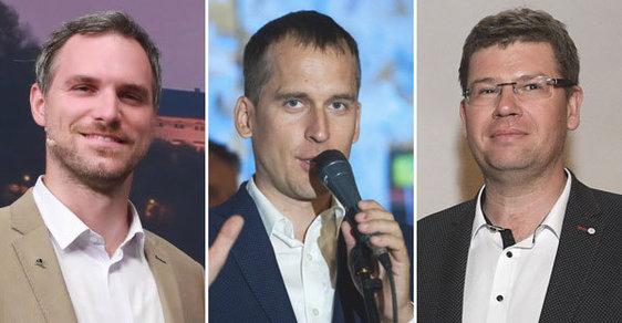 Zdeněk Hřib, Jan Čižinský a Jiří Pospíšil vyšachovali v Praze vítěznou ODS.