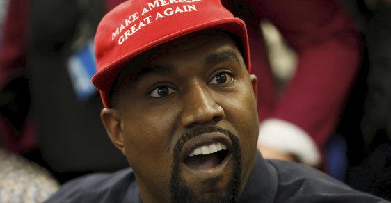 Druhý černošský prezident USA? Raper Kanye West oznámil kandidaturu do Bílého domu