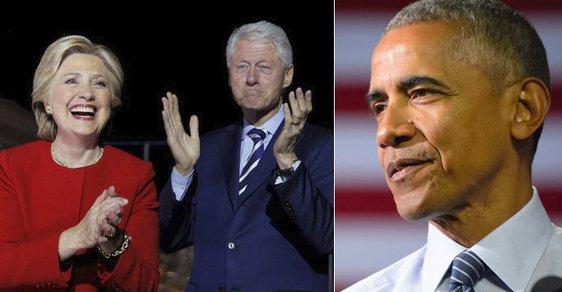 Neznámý útočník poslal manželům Clintonovým a Baracku Obamu bombu
