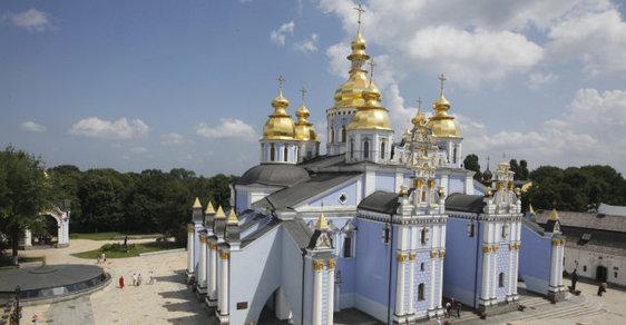 Pravoslavný kostel svatého Michala v Kyjevě