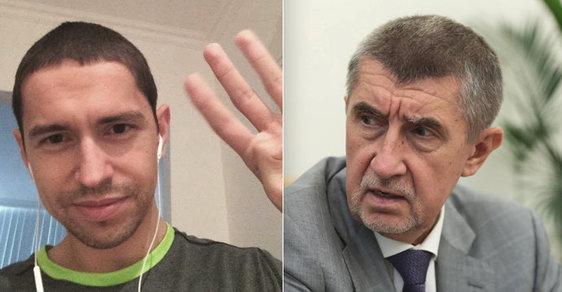 """Veřejnost vyhodnotila """"využití"""" Babišova syna proti Andreji Babišovi jako sviňárnu, a premiéra útok posílil."""