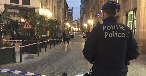 V Bruselu pobodal muž policistu, údajně při tom křiček Allahu akbar!