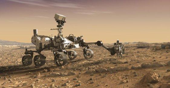 Možná podoba vozítka Mars 2020 Rover