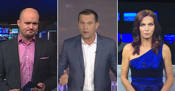 Jaromír Soukup začal nadávat moderátorům České televize Luboši Rosímu a Noře Fridrichové