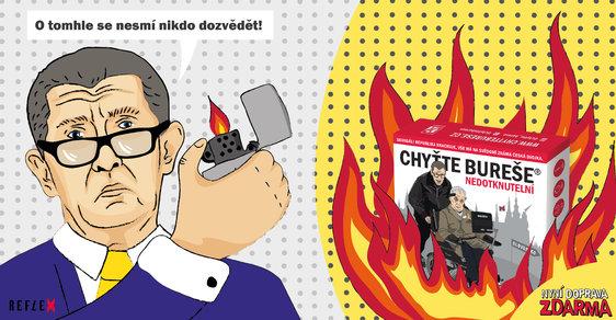 Chyťte Bureše! Ať na Krymu, nebo v krimu, tahle deskovka může být ozdobou vašich Vánoc