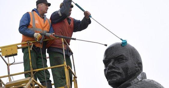 I Lenin se musí občas umýt