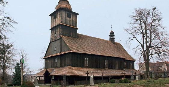 Nenápadný poklad v Sedlišti. To je unikátní kostel Všech svatých
