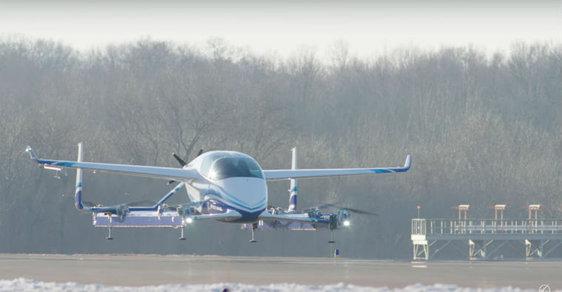 Létající taxi firmy Boeing
