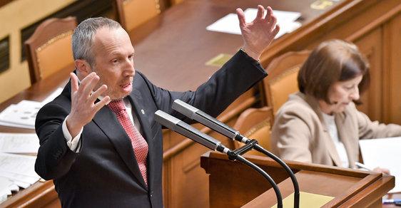 Václav Klaus ml. 23.1.2019 na jednání Sněmovny