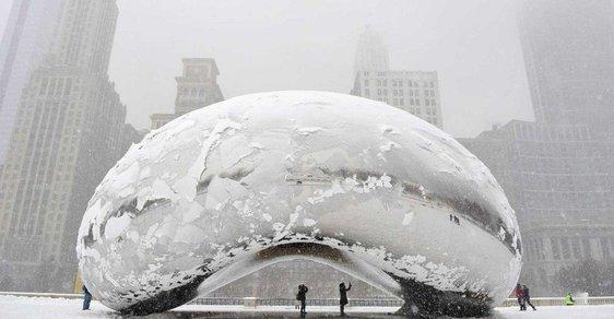 Spojené státy trápí třeskuté mrazy, rtuť teploměru se přiblíží až k minus padesáti stupňům