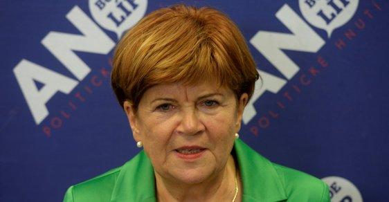 Senátorka za ANO Zuzana Baudyšová rezignovala ze zdravotních důvodů.
