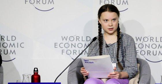 Pro protestující školáky je inspirací švédská dětská aktivistika Greta Thunbergová.