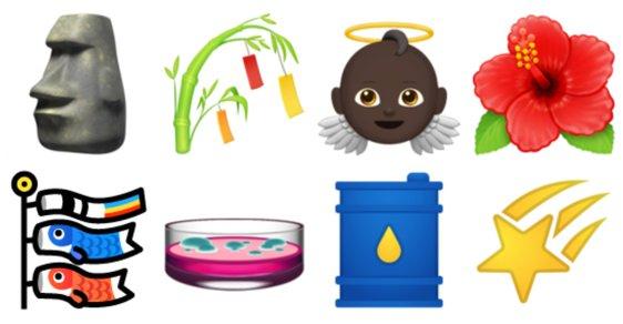 Ztracen ve světě emoji: Snědl klobásu afroamerický andělíček? Odfoukla šunku Matka příroda?