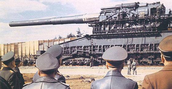 Těžký Gustav: Největší válečné dělo v dějinách sestrojili nacisté, jeho děsivá síla ale měla velký problém