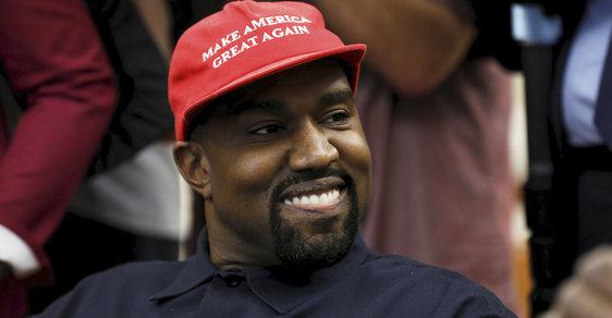 """Plánované rodičovství je dílo ďábla, slogan bude """"narozeninová oslava"""". Kanye West rozjíždí prezidentskou kampaň."""