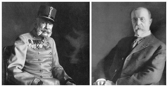 Češi si vymysleli, že jejich první prezident Tomáš Garrigue Masaryk byl levobočkem císaře Františka Josefa I.