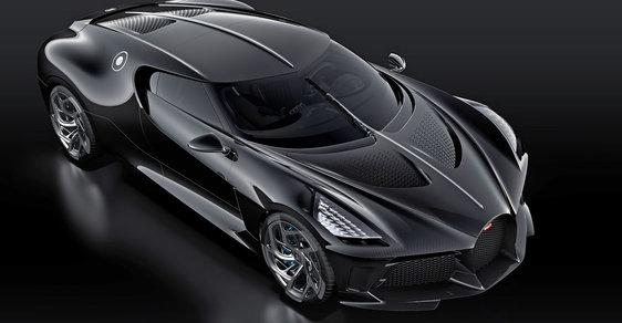 Auto za půl miliardy: Bugatti v Ženevě představilo unikátní hypersport, vyrobilo jediný kus