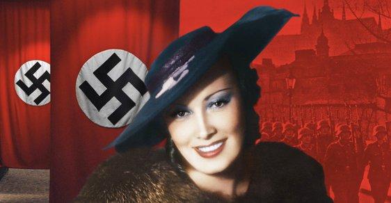 Koláž: Lída Baarová na titulní straně nového Speciálu Reflexu