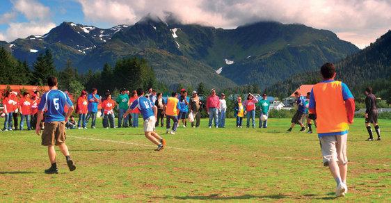 Střípky z Aljašky, největšího státu USA: Fotbalový turnaj století