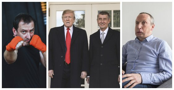 Zpětné zrcátko: Seriál Most! u RRTV, Babiš u Trumpa a Václav Klaus mladší vyhozen z ODS