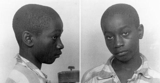 Čtrnáctiletý George dostal smrt na elektrickém křesle. Bělošská porota a soudce se s černochem nepárali