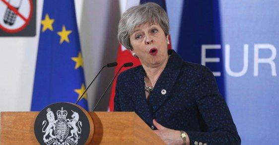 Theresa Mayová neuspěla s návrhem odkladu brexitu do června