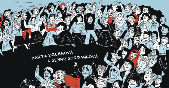 Norský komiks oslavuje 150 let boje žen za právo volit politiky i potrat, slavit MDŽ a sloužit v armádě