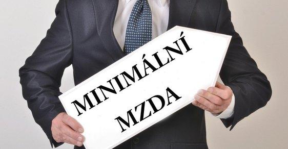 Minimální mzda - ilustrační snímek